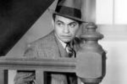 Edward G. Robinson - Movie tough guy and sometime killer