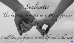 Do you believe in soul mates?