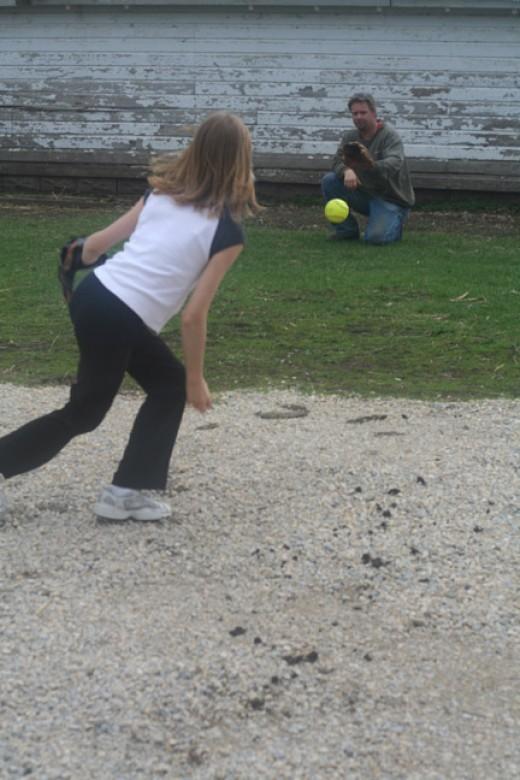 funny softball videos. Softball Pitching