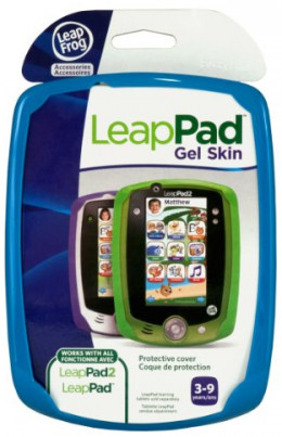 LeapFrog LeapPad2 Gel Skin - Blue(Works with LeapPad2 or LeapPad1)