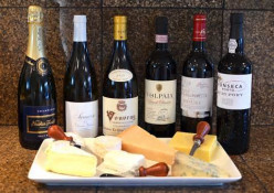 Wine and Cheese Pairings for Holiday Party Fun