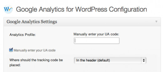Sign up for Google Analytics, then copy and paste your UA code in the settings.