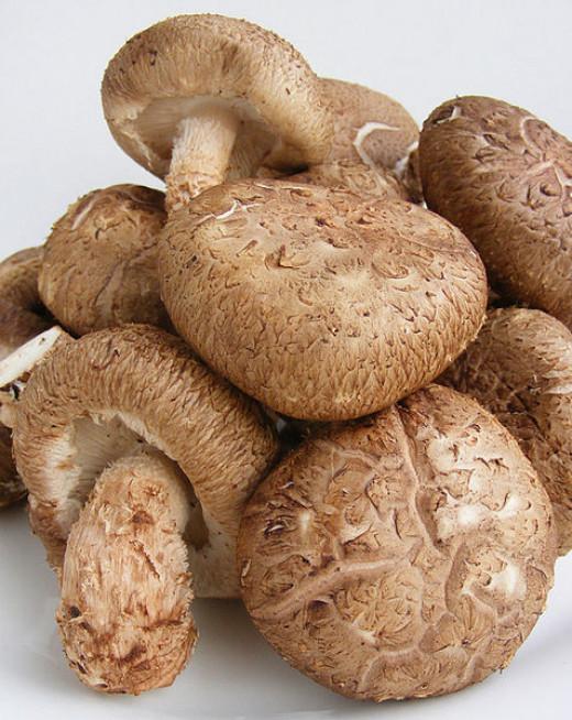 Shiitake Mushrooms have unique health benefits