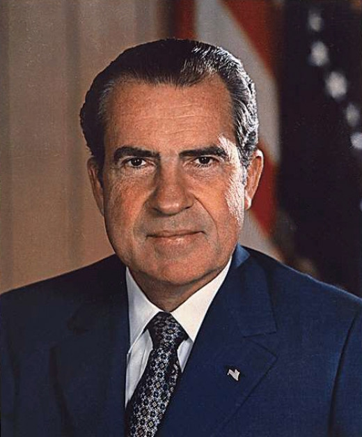 President Nixon who started the War on Drugs.