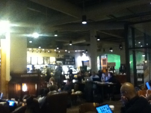 From grocery stores, book stores, nail salons, pretty much everything is a coffee shop these days.