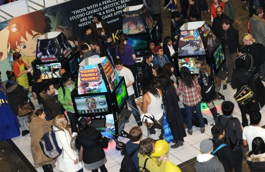 Arcade Gaming Area