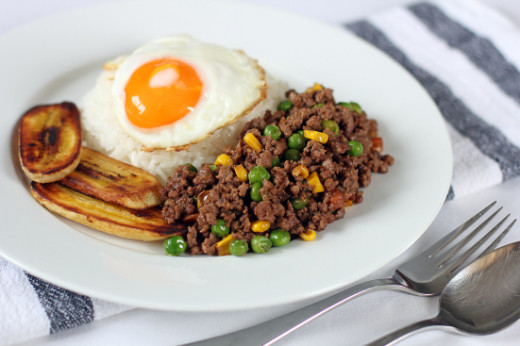 Arroz ala Cubana is best for breakfast, lunch, or dinner. :)