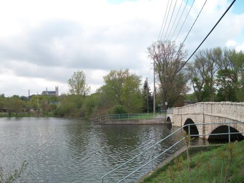 Gow's Bridge, Guelph, Ontario