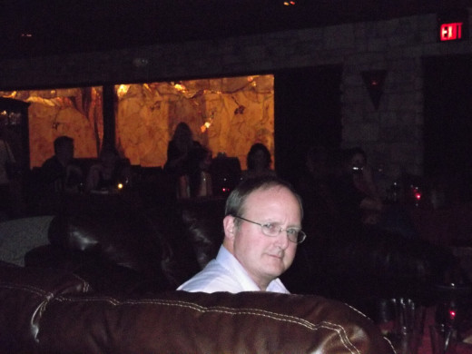 In a Scottsdale Jazz Venue, trying to look cool but knowing I never will...