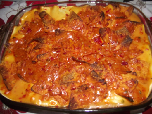 Mexican Style Lasagne!