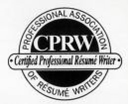 Look for this logo - A Certified Professional Resume Writer