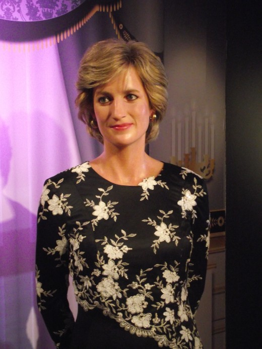 Princess Diana, Madame Tussaud's