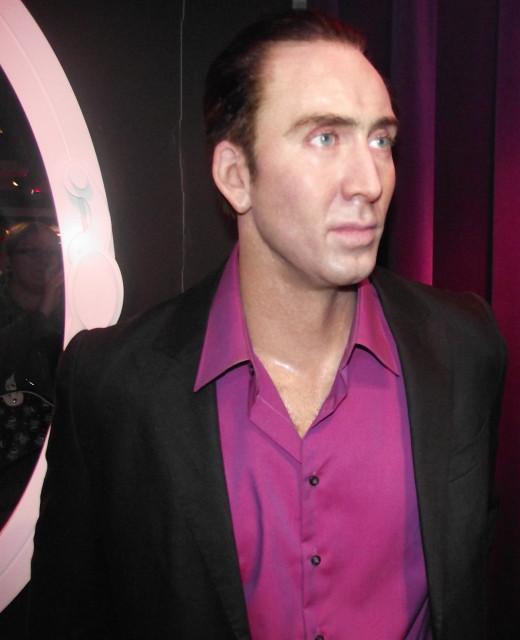 Nicholas Cage, Madame Tussaud's
