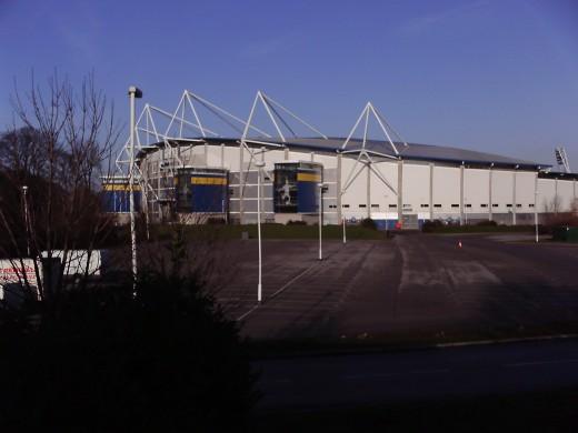 The KC Stadium.
