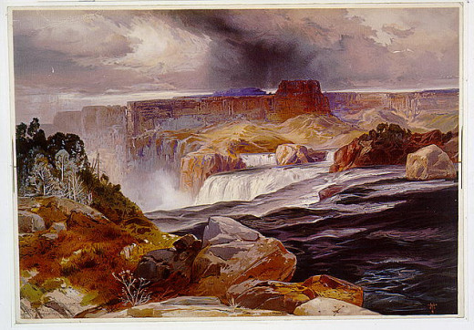 Great Falls of Snake River
