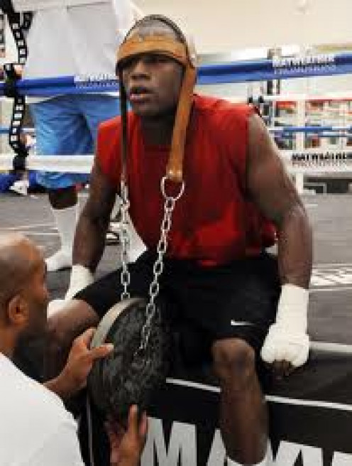 Floyd Mayweather, Jr. always come into the ring 100% prepared to win.