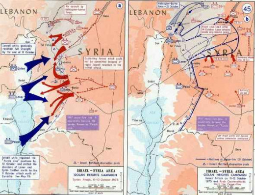 The Israel/Syria Purple Line