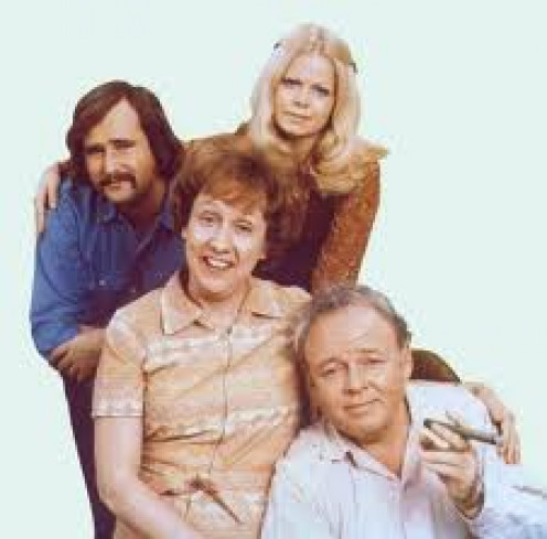 All in The Family,  was a controversial sitcom that spawned another hit show called The Jefferson's.