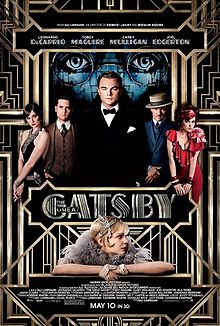 The official film poster features the cast under the book's iconic billboard.