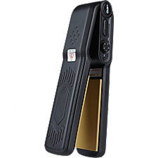 GVP travel flat iron included with purchase of full-size flat iron for a limited time, $29.99 value.