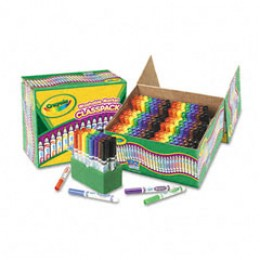 Washable art markers from Crayola.