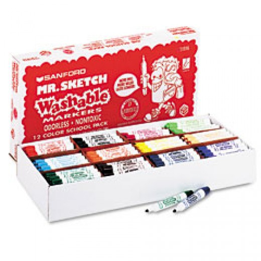 Washable art markers from Mr Sketch a Sandford Company!