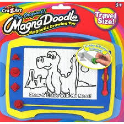 Magna Doodle  was very popular during the 1970s, 1980s and the 1990s to a degree.