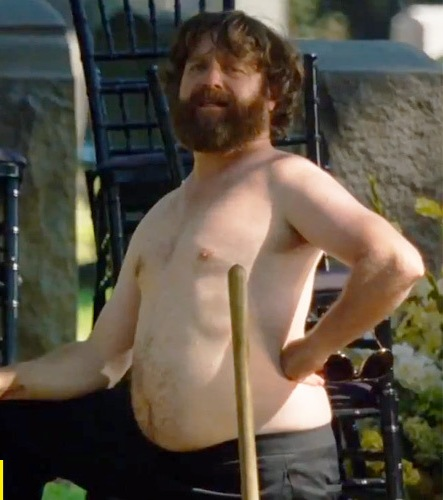 Zach Galifianakis stars as the narcissistic Alan in the latest installment of the Hangover series.