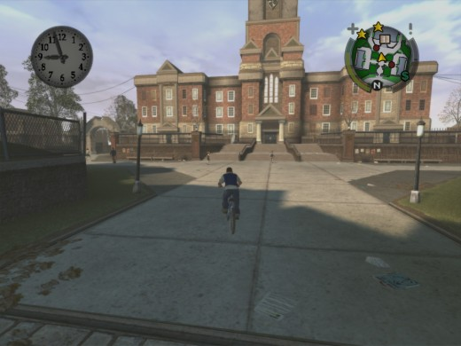 Good ol' Bullworth Academy.  It looks nicer from a distance.