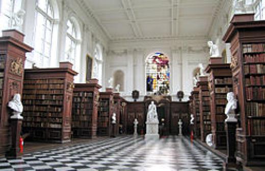 The Wren Library, Trinity