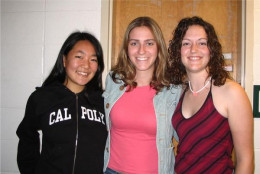 Me, my former bestie Nicole (right), and our dear friend Sheri (middle)