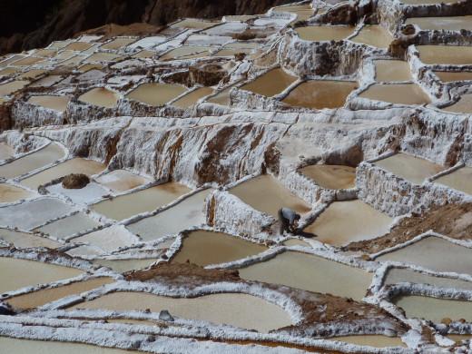 Salineras Inca salt pads