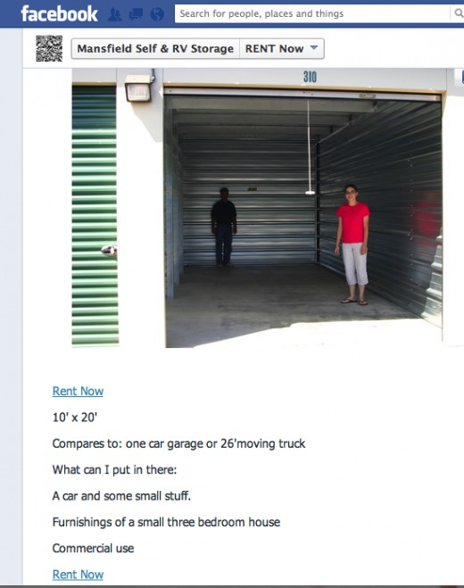 You can add a lager photo and detailed description. I recommend you note what it can hold  ( ie 2 bedroom apt) and compare to a typical uhaul trailer or truck size.  Provide a rental link to your www.24hrStorage.net site to let the clients rent home.