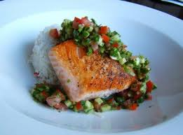 Salmon is a perfect option when you are craving rich meat.
