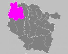 Map location of Verdun 'arrondissement'