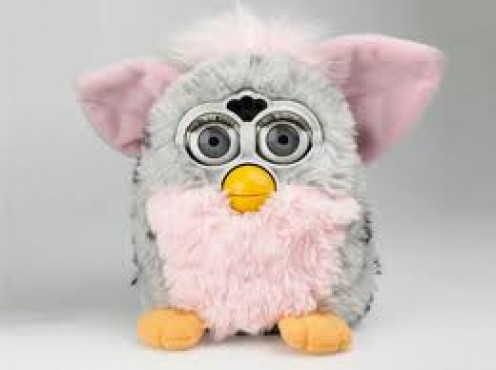 Furby was one of the best selling and most popular toys of the 90's. This small creature was able to learn English over a period of time.