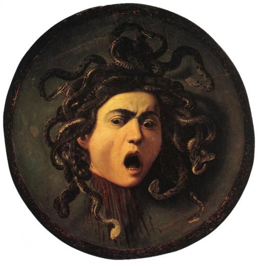 Medusa by Caravaggio (1595)