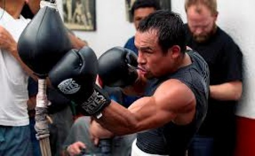 Juan Manuel Marquez has a knockout win over Manny Pacquiao. He is a great puncher and he has displayed great skills and heart during his bouts.