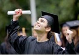 With graduation comes a surprise.