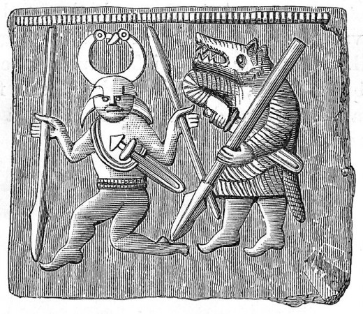 The Werewolf and the Film Critic in the Vendel Era of Sweden (550 - 793 AD).