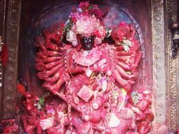 Hindu Goddess installed in Palanchol Bhagavati Temple