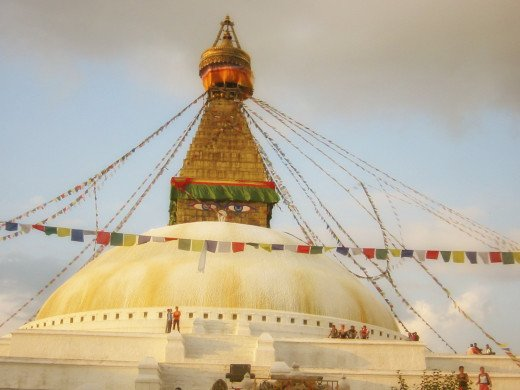 Stupa: Dome style temple design