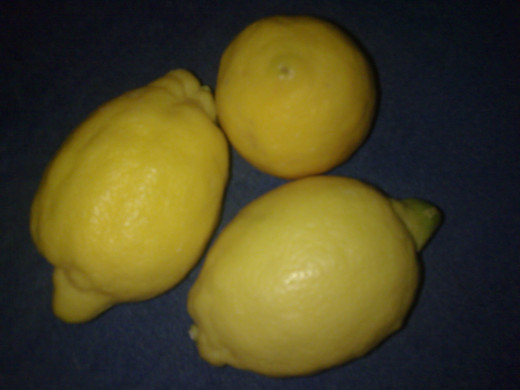 Lemons, a member of the citrus family and a great source of vitamin C