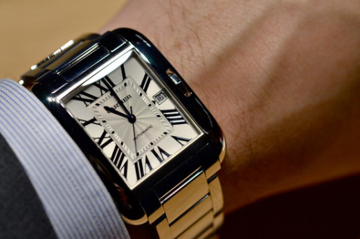 Cartier Tank Anglaise Watch Hands-On