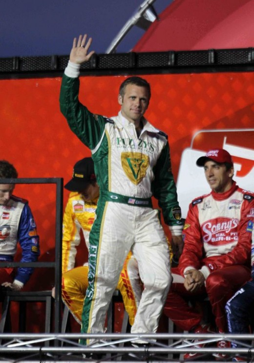 Ed Carpenter - pole sitter for the Indy 500 race