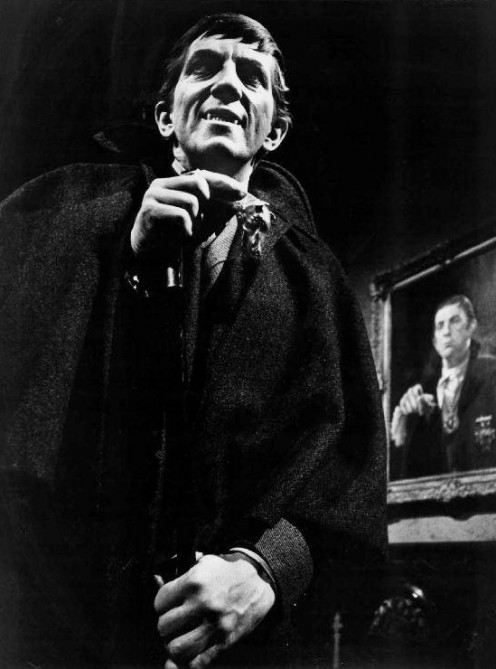 Jonathan Frid as Barnabas Collins on Dark Shadows/ Copr 1968 ABC Television