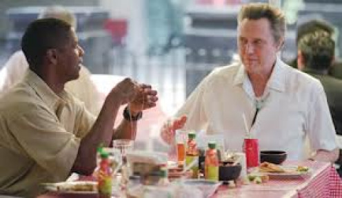 Denzel Washington played alongside fellow Hollywood star Christopher Walken in Man on Fire.