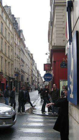 The famous rue de Richlieu