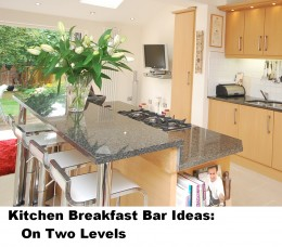 Kitchen Breakfast Bar Designs: On Two Levels