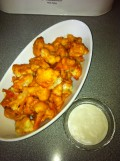 Cauliflower Wings- a Vegetarian Fake-out Appetizer